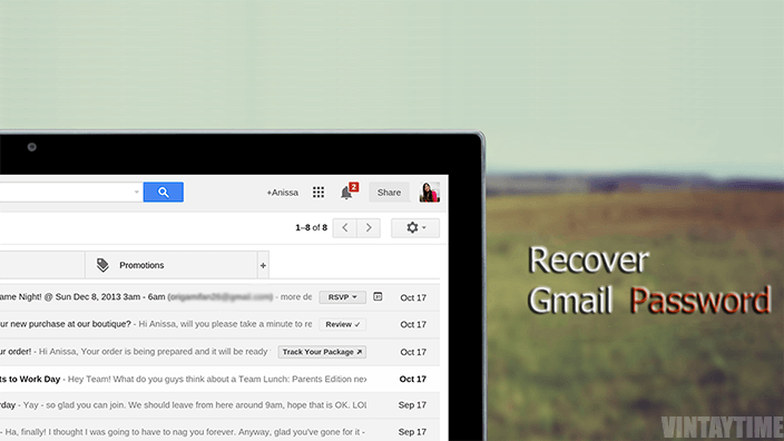 Tutorial – Recover Your Google Mail Password