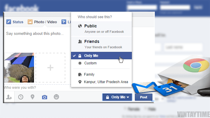 Facebook Photo Privacy Hack with Just a Chrome Extension