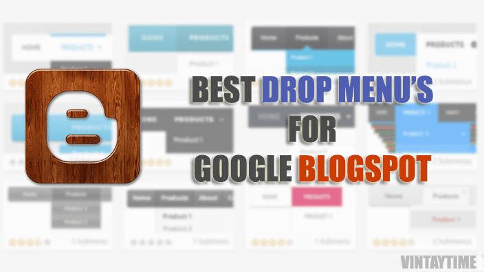 11 Best Drop Down Menu Widgets For Blogger