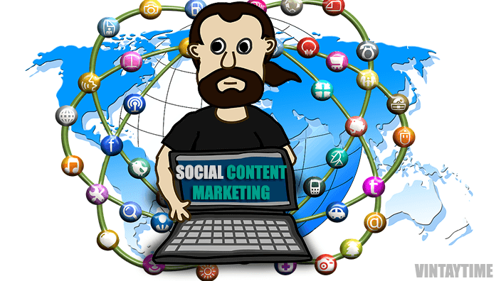 Build Content Marketing Strategy Over Social Media