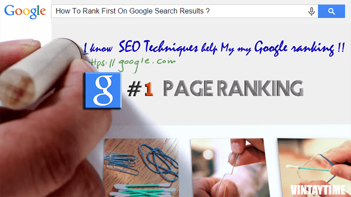 How To Rank On The First Page Of Google Search – SEO Technique