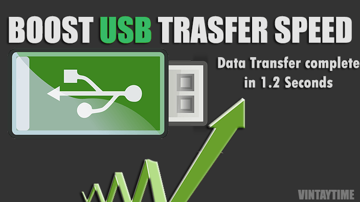 How to Test & Increase your USB Flash Drive Read, Write