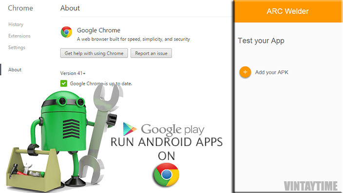Install and Run Android Apps Inside Chrome for Cross Platform