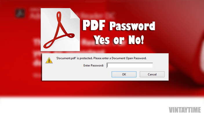 How to Add/Remove PDF Password Protection in 20 seconds or Less