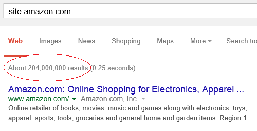 search-site-links