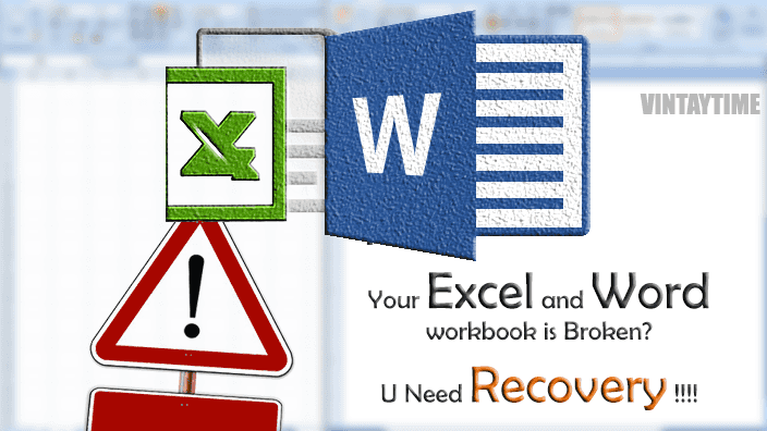 How to Recover/Repair Corrupted Office Files(Excel, Word) Data For Free