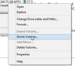 shrink-volume
