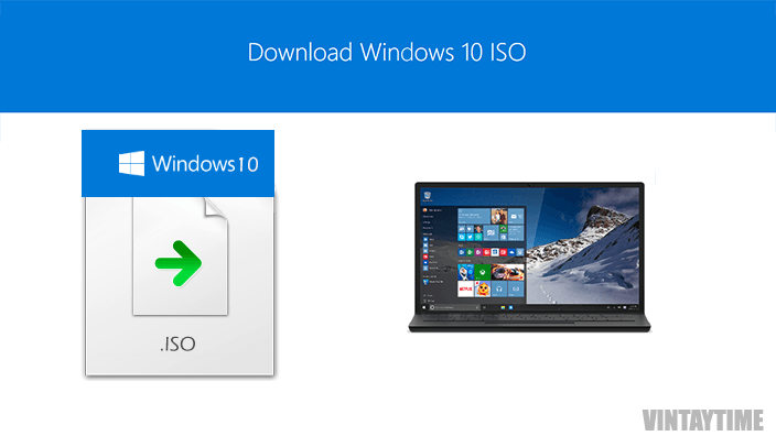 Download Windows 10 (Home, Pro) ISO for free with this tool