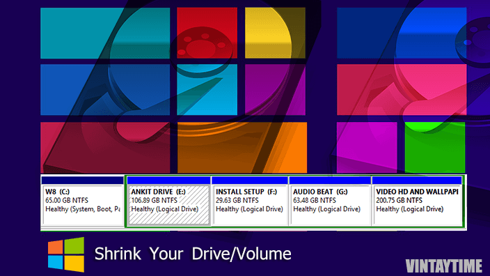 Create Multiple Hard Disk Drive Partition without Formatting Windows