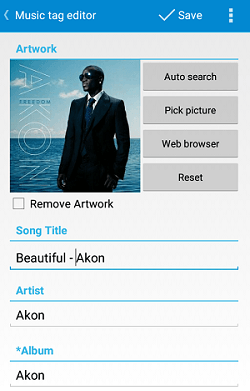 How To Customize Music Tags and Album Art in Android
