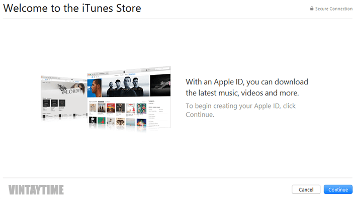 Step by Step to Create an Apple iTunes ID without a Credit Card