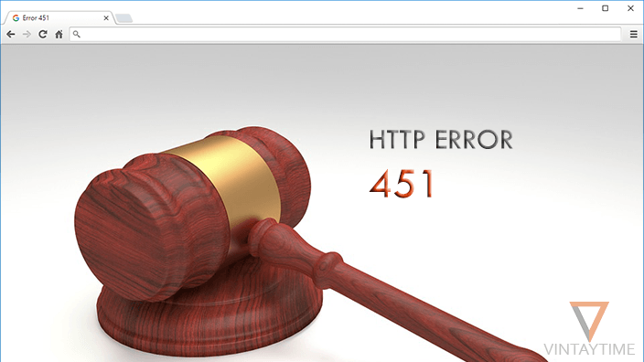The new HTTP error code 451 will handle the legal demands