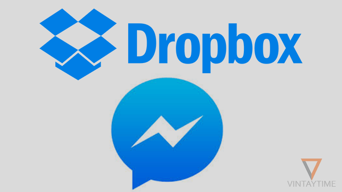 Quickly share Dropbox files on the Facebook Messenger app