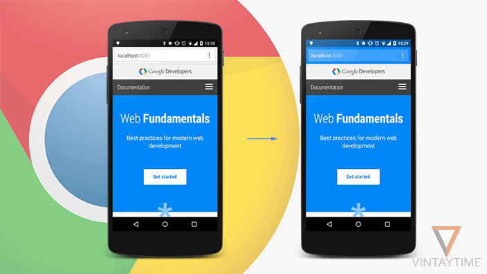 Chrome mobile theme-color meta tag for website owners