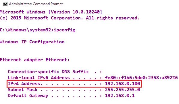 IPv4-address-cmd