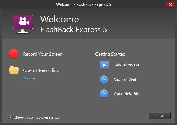 FlashBack Express free