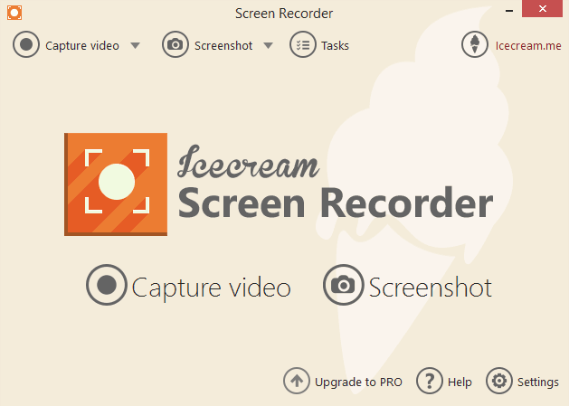 Icecream screen recorder win