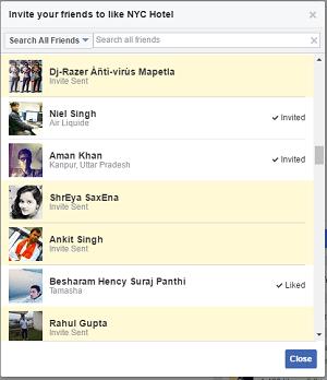 facebook-page-invite-popup
