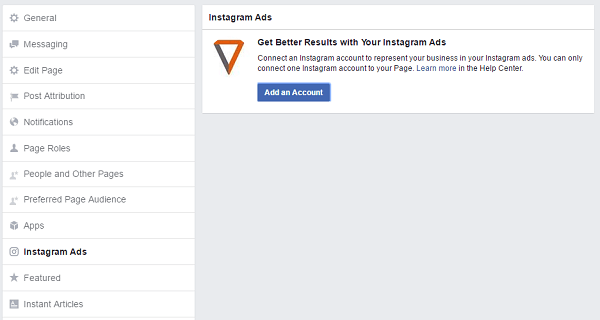 instagram-ads-tab-facebook-page-settings