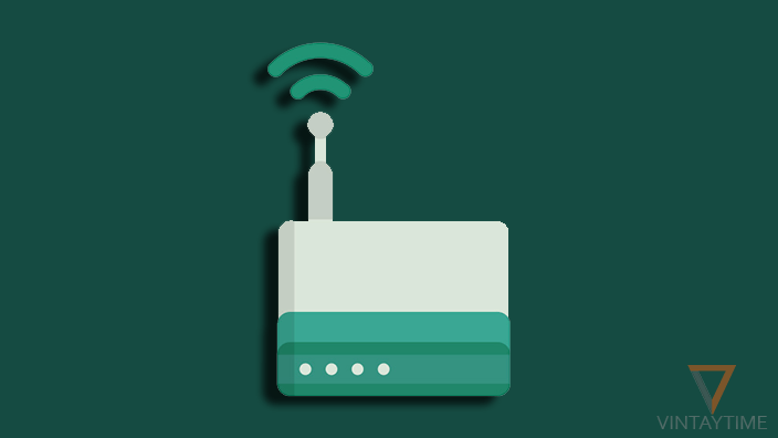 wifi router vector featured