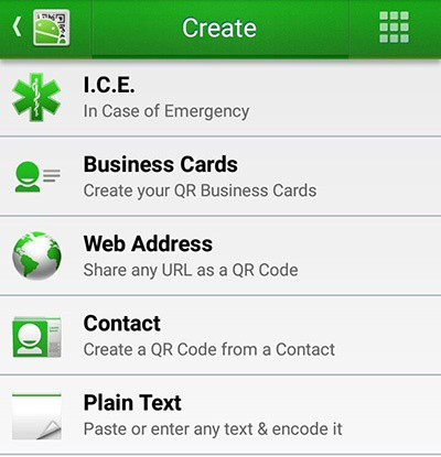 QR Droid Code Scanner android