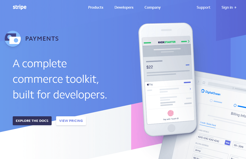 stripe-payments-page