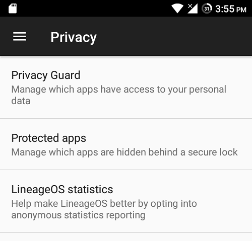 LineageOS-privacy
