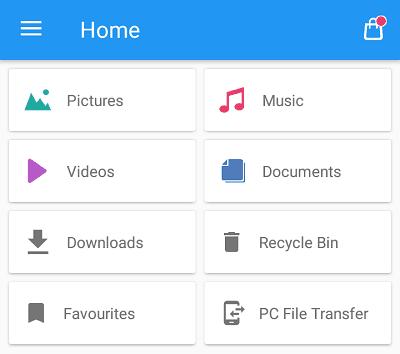 File Commander app