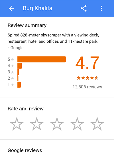 google-maps-reviews-demo