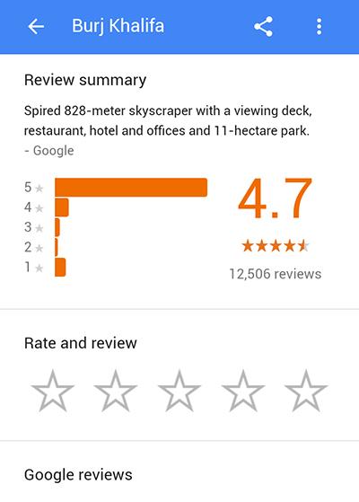 google-maps-reviews-demo