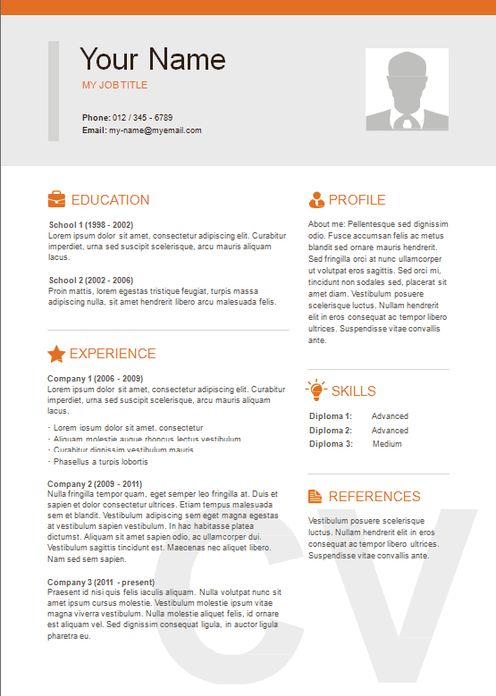 10 best resume templates you can free download ms word vintaytime