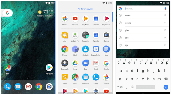 Pixel Launcher screenshots