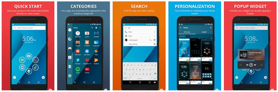 Smart Launcher screenshots