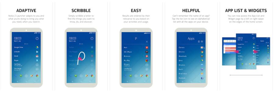 Z Launcher screenshots