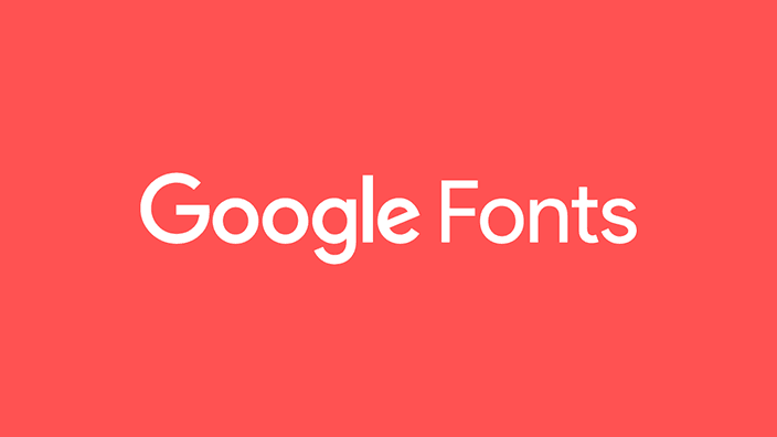 google fonts featured