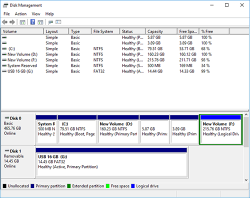 Disk Management Windows