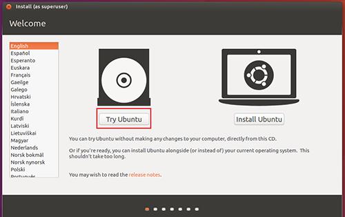 Try Ubuntu
