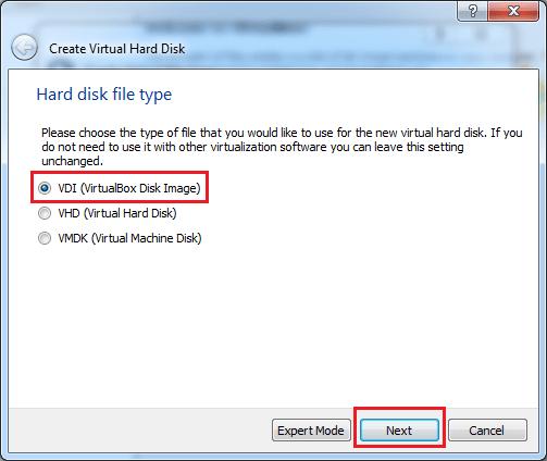 VirtualBox-hard-disk-file-type