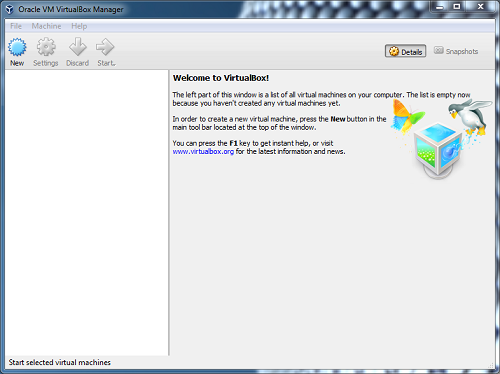 VirtualBox-software