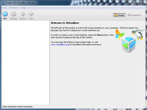 VirtualBox-software