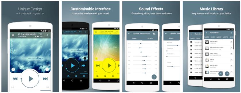 NRG Player android screenshots