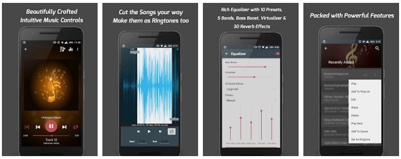 Pi Music Player android screenshots