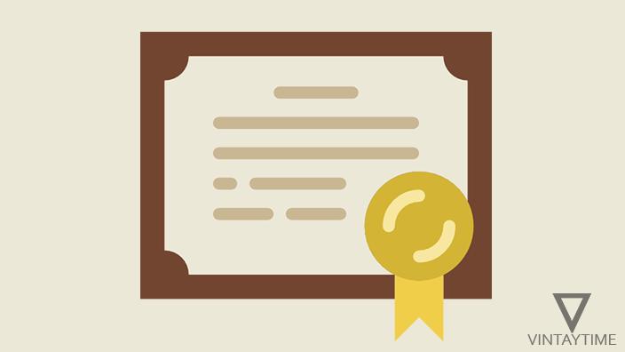 certificate featured