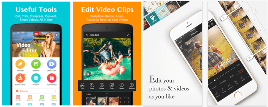 10 Best Free Video Editor Apps for Smartphones and Tablets