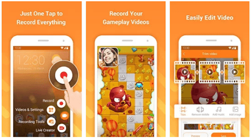 screen recording app android 1