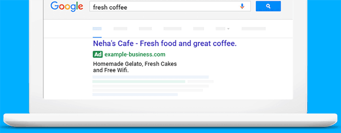Text Ad Image Via Google Adwords