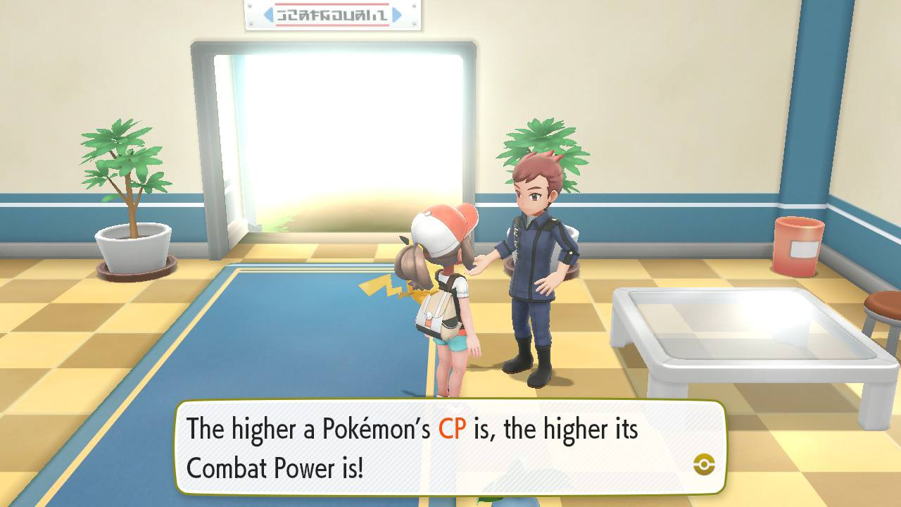 Lets Go Pokemon Guide Vintaytime X Electrical Plant The Combat Power Cp Determines How Strong Is Which You Can Check By Going To Menu Box And Sort Them Note That Increases