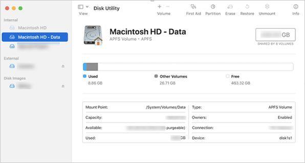 Data Recovery In Mac